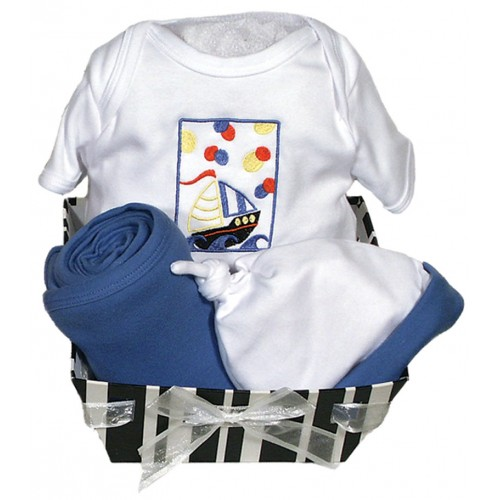 Delightful Brights Body Suit Boy Gift Set