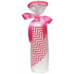 Treasured Cotton Candy Chevron Blanket Gift Set
