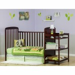 2 in 1 Full Size Crib & Changing Table Combo
