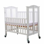Affinity, Mini Ultra Convenience Crib - White