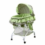 2 in 1 Bassinet To Cradle - Green
