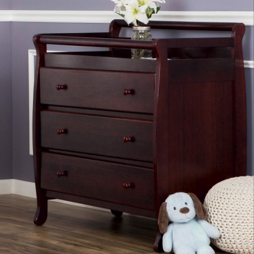 Liberty Collection 3 Drawer Changing Table - Espresso