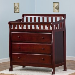 Marcus Changing Table & Dresser - Cherry