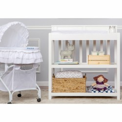 Zoey 3 in 1 Convertible Changing Table - White